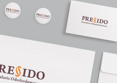 Logotyp Kancelarii Odszkodowawczej PRESIDO